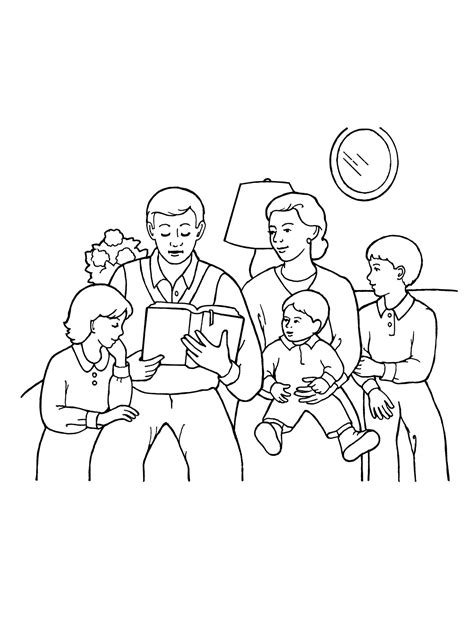 Library of family reading clip art royalty free library