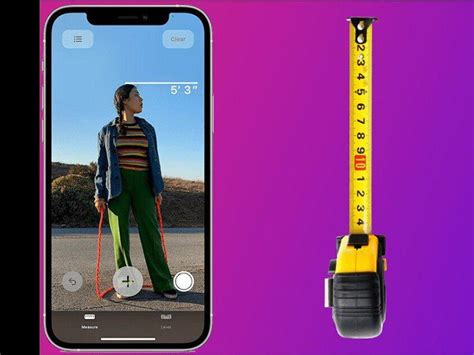 The iPhone 12 Pro's LiDAR scanner can measure someone's