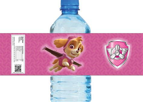 Paw Patrol Inspired Water Bottle Labels 8 by Cre8iveDesign