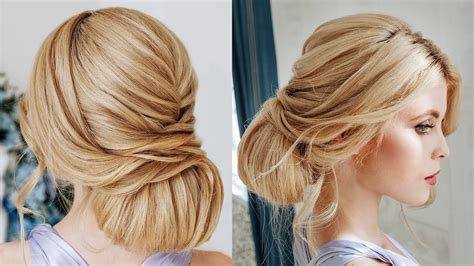 Textured bun for thick hair tutorial | Wedding hairstyle