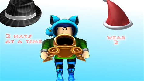 ROBLOX HOW TO WEAR MORE THAN 1 HATS!!! TUTORIAL 2020 - YouTube