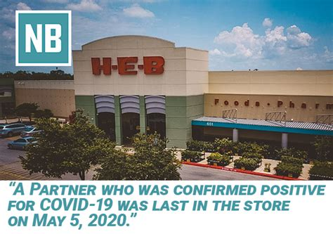 Employee at H-E-B in New Braunfels Tests Positive for