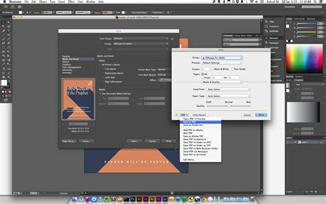 How do I export multiple different sized artboards to PDF