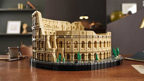 Lego Colosseum, a model of the Roman amphitheater, goes on