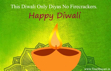 Eco Friendly Diwali Quotes & Images | Pollution Free Safe