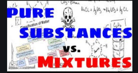 Pure Substances and Mixtures Separation ICSE Class-6th
