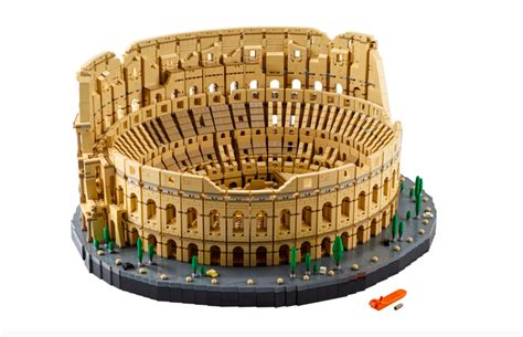 Lego Unveils New Colosseum Set, Its Largest Yet, With