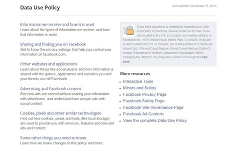 5 important clauses in Facebook's new privacy policy – The