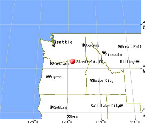 Stanfield, Oregon (OR 97875) profile: population, maps