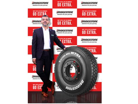 Bridgestone V-Steel Mix M721 tyre for CVs launched in India