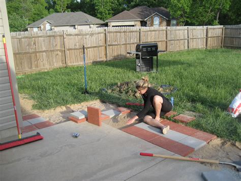 12x12 Patio Pavers   Insured by Laura