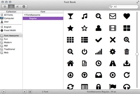 How to use Font Awesome in a Desktop app   David Roessli's