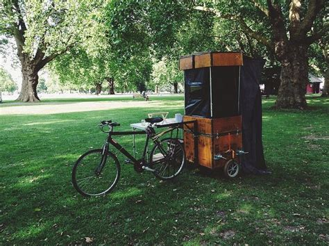 a mobile darkroom - wet plate collodion photography