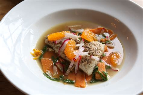 Recipe: Poached Speckled Trout with Sweet Potatoes   WWOZ