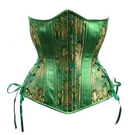 Emerald Corset, Hourglass Silhouette, Long – Timeless-Trends